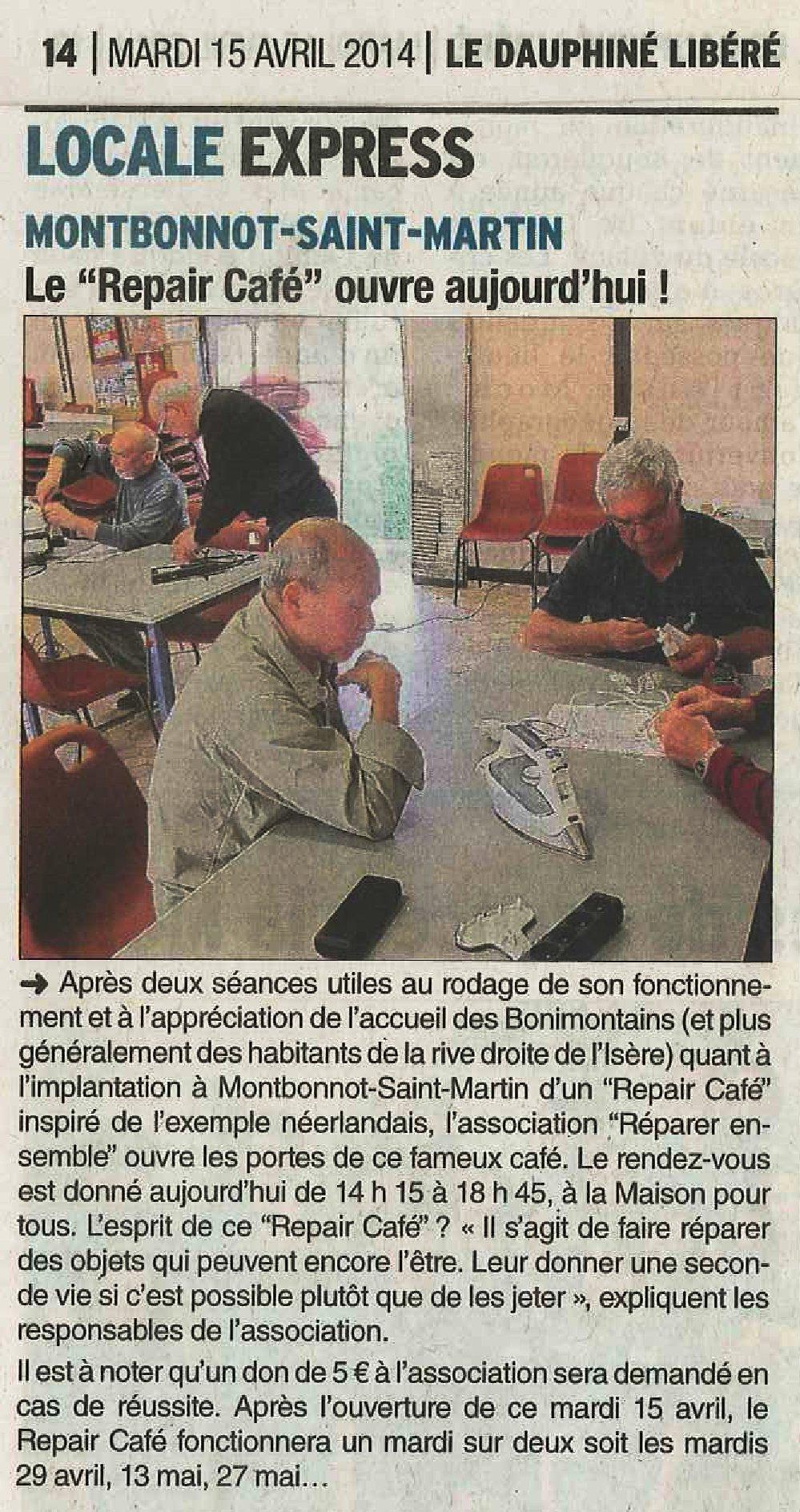 2014-04-15 Dauphiné Libéré