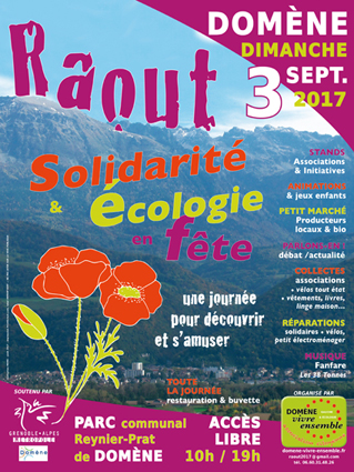 Le Repair Café à la 3ème fête de la Solidarité et de l'Écologie à Domène
