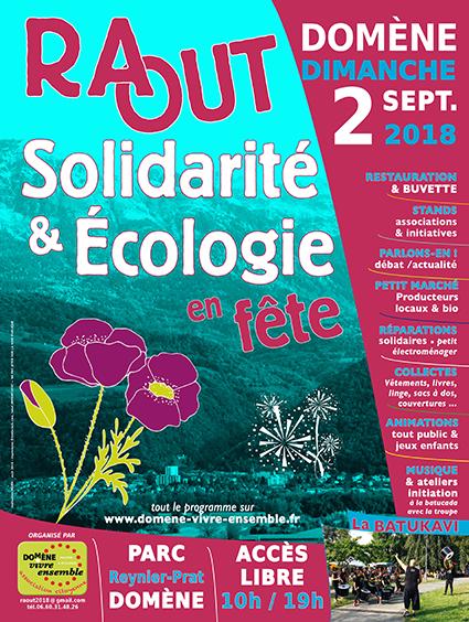 Le Repair Café à la 4ème fête de la Solidarité et de l'Écologie à Domène