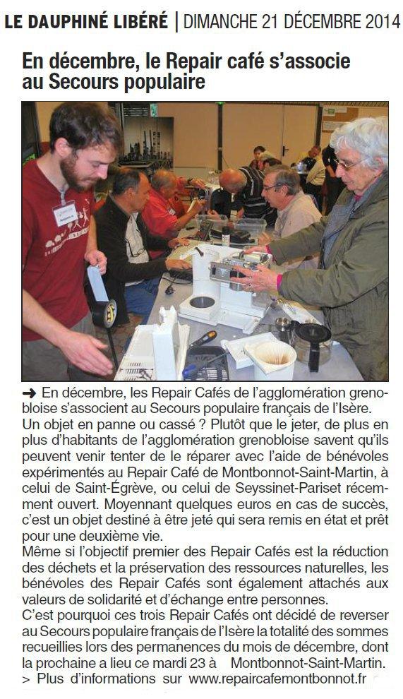 2014-12-21 Dauphiné Libéré