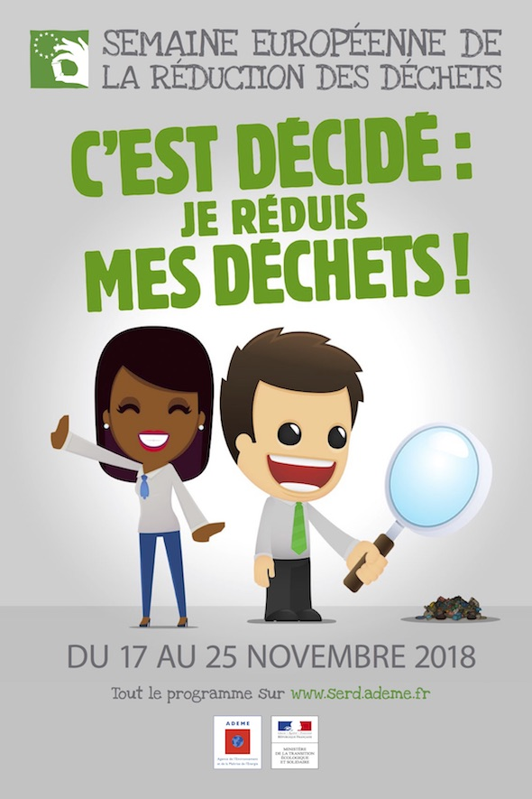 Semaine Européenne de la Réduction des Déchets 2018