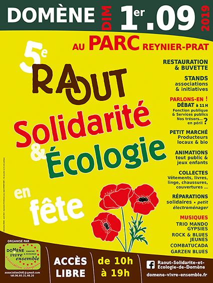 Le Repair Café à la 5ème fête de la Solidarité et de l'Écologie à Domène